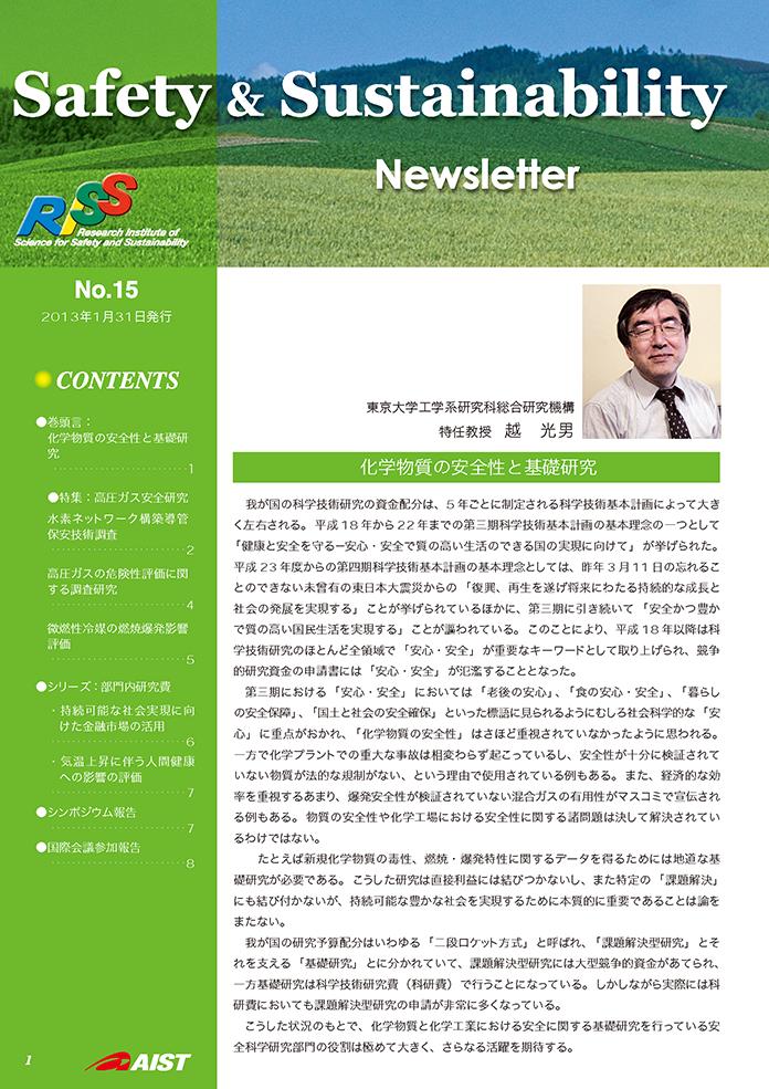 第15号(2013年1月発行)